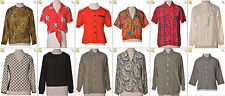 "JOB LOT OF 27 VINTAGE WOMEN""S TOPS - Mix of Era's, styles and sizes (20914)*"