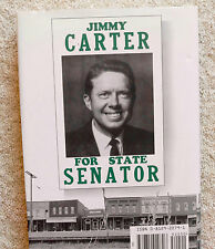 JIMMY CARTER TURNING POINT 1992 FIRST EDITION HCDJ Georgia Senate Candidate PICS