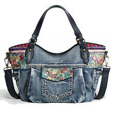 Desigual Handbag Bols Mini Redterdam Ethnic Deluxe Marino
