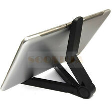Desktop Folding Holder Stand For Samsung Galaxy Tab 2 3 7.0 7.7 8.9 10.1 Tablet
