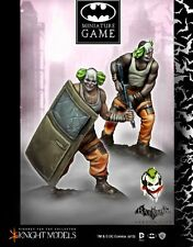 Knight modèles BNIB Batman Arkham City-Joker clowns Set II k35bac018