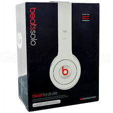 Genuine Beats Solo by Dr.Dre Over Earphone Headphone Remote+Mic Handsfree New