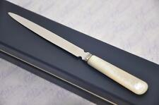 NEW MADE IN SHEFFIELD BOXED MOTHER OF PEARL LETTER OPENER FANTASTIC