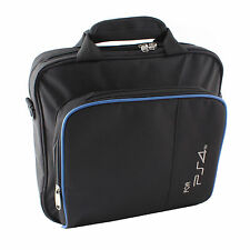 For PlayStation4 PS4 Black Multifunctional Travel Carry Case Carrying Bag