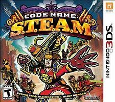 Code Name: STEAM (Nintendo 3DS, 2015) *New Factory Sealed* FREE SHIPPING