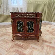 Jia yi dolls house marble top commode 12TH échelle nouveau