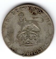 1925 12d 1s Silver ONE SHILLING twelve pence King George V (a)