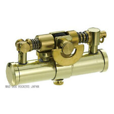 Stylish Design Oil Lighter Japanese Duke4 Made in JAPAN Steampunk Brass F/S