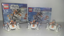 LEGO STAR WARS MICROFIGHTERS 75074 - SNOWSPEEDER X3 - LOT DE 3