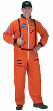 Halloween NASA ASTRONAUT SUIT ADULT ORANGE LARGE High Quality Men Space Costume