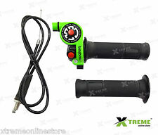 Xtreme Bungbon Quick Throttle Full Assembly Kit For Bikes (Green Color)