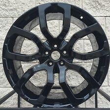 "20"" Land Rover Discovery 5 Split Spoke Style Wheels Rims Black Evoque Coupe New"
