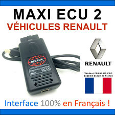 Valise de Diagnostic et Programmation RENAULT PRO - CLIP Compatible CAN OBD2