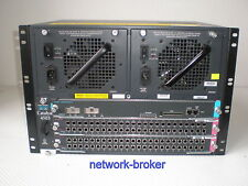 Cisco Bundle WS-C4503 + WS-X4516 2 x WS-X4148-FX-MT  96 port multimode FE fiber