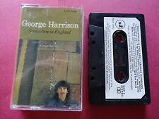 GEORGE HARRISON SOMEWHERE IN ENGLAND CASSETTE TAPE
