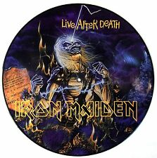 IRON MAIDEN VINYL LP - LIVE AFTER DEATH - PICTURE DISC