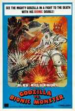 Godzilla Vs Mechagodzilla Poster 02 A3 Box Canvas Print