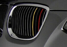German Flag 3 Strip Grill Sticker for BMW F20 F30 F10 E46 E90 E60 Z4 I3 E39 E90