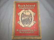 Vintage ROCK ISLAND HEIDER D C Tractor Full Line equipment Catalog 290 pages