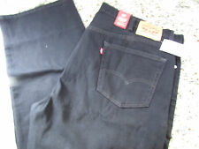 NEW LEVIS 505 REGULAR STRAIGHT  JEANS MENS 56X32 BLACK 045050260 FREE SHIP
