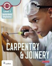 NVQ/SVQ Diploma Carpentry and Joinery Candidate Book: Level 1 (NVQ Carpentry & .