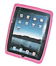Silikon TPU Handy Case Cover Hülle Schale   für APPLE - iPad   in ROSA - PINK