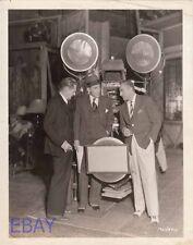 Director Jack Conway John & Lional Barrymore VINTAGE Photo Arsene Lupin