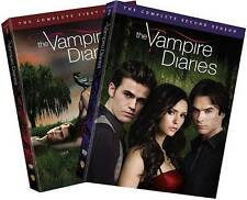 Vampire Diaries The Complete Seasons One & Two DVD 10-Disc Box Set! First Second