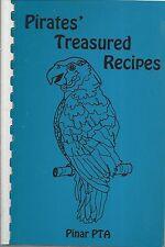 *ORLANDO FL 1991 PINAR ELEMENTARY SCHOOL COOK BOOK *PIRATES TREASURED RECIPES
