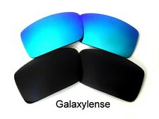 Galaxy Replacement Lenses For Oakley Gascan Small Black&Blue Polarized 2Pairs
