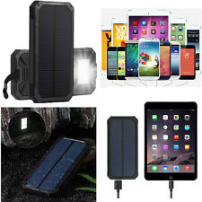 100000mAh Waterproof Solar Power Bank Portable Charger For Tablet phone Toy GPS