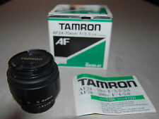 Tamron AF 24-70mm f/3.3-5.6 for Nikon AF w manual in original box, lightly used