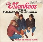 "The Monkees - Pleasant Valley Sunday/Words 7"" vinyl single Australia 1967"