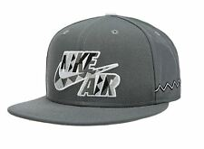 NIKE TRUE AMP BB CORE CAP MENS OSFM GREY PEACE SIGN URBAN JUNGLE GYM AIR RAID