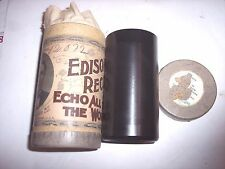 MINTY EARLY EDISON PHONOGRAPH 2m FOREIGN SERIES CYLINDER RECORDS OB/LID  #12072