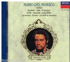 Mario Del Monaco: Verdi / Rigoletto, Aida, Il Trovatore, Otello, Macbeth...- CD