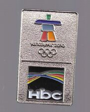 2010 HBC Olympic Pin Silver