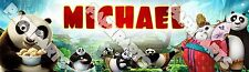 Personalized Kung Fu Panda 3 Movie Custom Name Painting Poster Name Art Banner