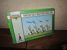 GW Warhammer Fantasy High Elf Silver Helm Knights (4th Edition)