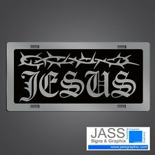 Christian License Plates - Christian Mirror Car Tags Jesus
