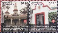 2014 40° ann. fondazione dello SMOM - El Salvador - coppia