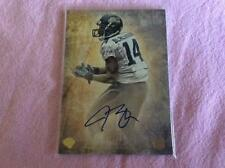 Justin Blackmon Autographed Football Card Insert Lot 169