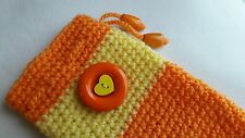 BerryCrafts -Pretty Crocheted Mobile Phone Case Cover,Pouch Bag 6/Christmas Gift