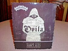 NEW SIERRA NEVADA BREWING OVILA ABBEY ALES SIGN BREWED BY MONKS CHICO CALIFORNIA