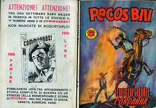 "* PECOS BILL N°18/ 2/SET/1966 : "" INESORABILE CONDANNA """