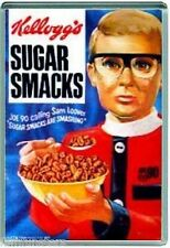 60's NOSTALGIA -KELLOGGS JOE 90 SUGAR SMACKS- JUMBO FRIDGE MAGNET #14