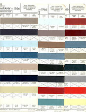 1966 FORD MUSTANG FAIRLANE GALAXIE MERCURY COMET LINCOLN 66 PAINT CHIPS ACME 2