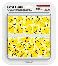 NEW 3DS Official Faceplate Pikachu Pokemon no.57 Cover Plates Japan Import
