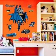 Super Hero Batman Removable Wall Sticker Vinyl Art Decal Nursery Kids Room Decor