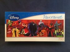 Disney VILLAINS Panoramas Puzzle 750 pieces COMPLETE 2007 no 50571 Witch Hook +